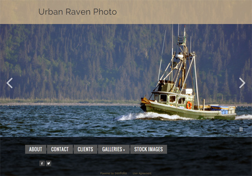 Screenshot of Urban Raven Photo